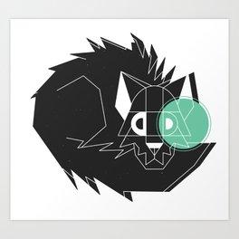 Dangerous Animal Art Print