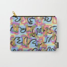 Lines over Squares and unter Bridges  Carry-All Pouch