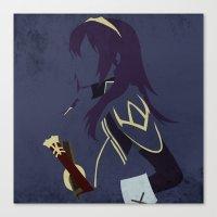fire emblem Canvas Prints featuring Lucina Fire Emblem Awakening  by MKwon