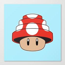 Are We Not Mushroom Canvas Print