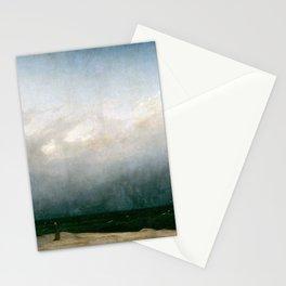 Caspar David Friedrich - The Monk by the Sea (1809) Stationery Cards