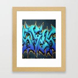 Graffiti 1 Framed Art Print