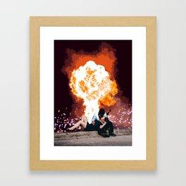 Love in the End Framed Art Print