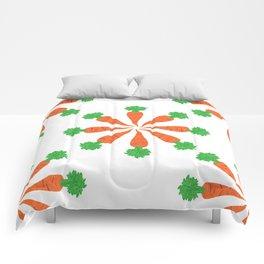 pattern carrot Comforters