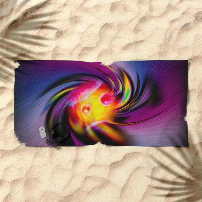 Abstract Perfection 52 Beach Towel