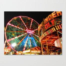 Coney Island Canvas Print