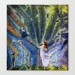 Vernal Equinox - Mystic Night Canvas Print