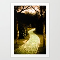 The way to Wonderland Art Print