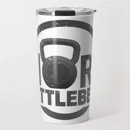 More Kettlebell Travel Mug