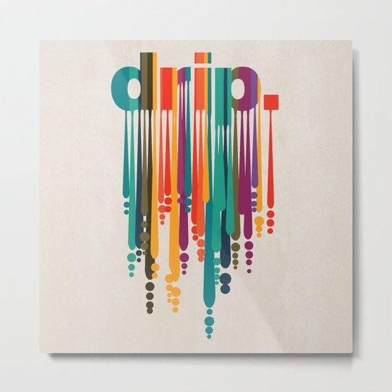 drip v2 Metal Print