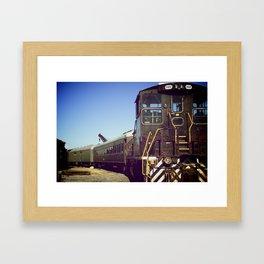 Depot Framed Art Print