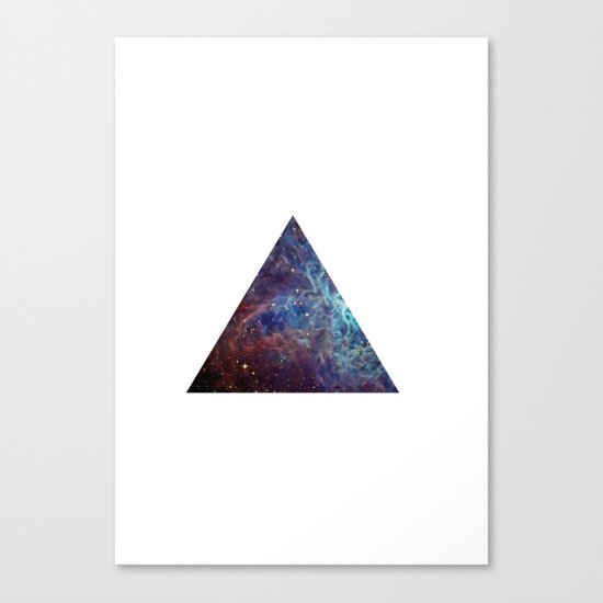 Biggest Hipster in all Cosmos Canvas Print