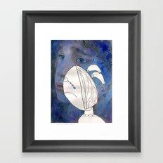 I feel sad Framed Art Print