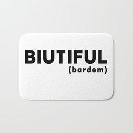 Biutiful bardem movie. Film buff scandinavian quote Bath Mat
