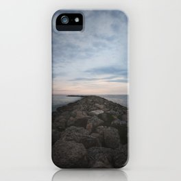The Jetty at Sunset - Vertical iPhone Case