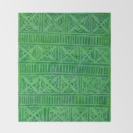 Abundance Pattern Throw Blanket