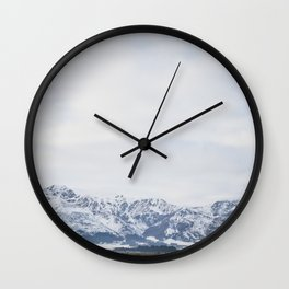 Queenstown, New Zealand Wall Clock