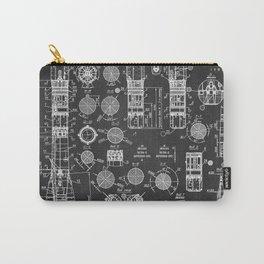Soviet rocket chalkboard patent Carry-All Pouch