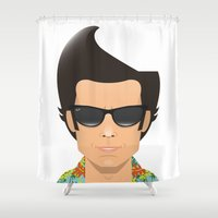 ace Shower Curtains featuring Ace by Capitoni