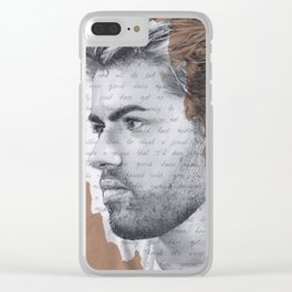 Careless Whisper Clear iPhone Case