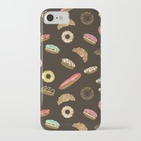 donuts iPhone & iPod Cases featuring Donuts by Julia Badeeva