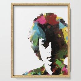 Bob Dylan - That Wild Mercury #12 Serving Tray