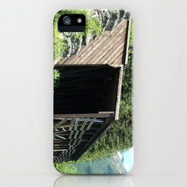 Snow Shed iPhone Case