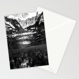 Monochrome Caribbean Layers Stationery Cards