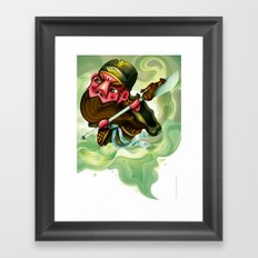 The Three Kingdom - Guan Yu Framed Art Print