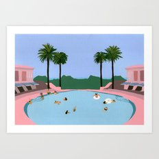 Welcome to Miami Art Print
