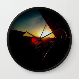 Going out with a bang Wall Clock