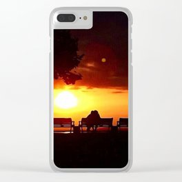 Don't Ever Let The Sun Go Clear iPhone Case
