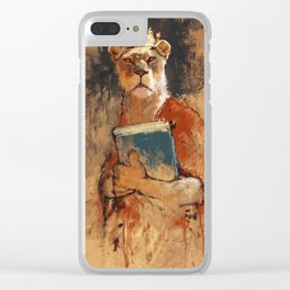 The queen's orders Clear iPhone Case