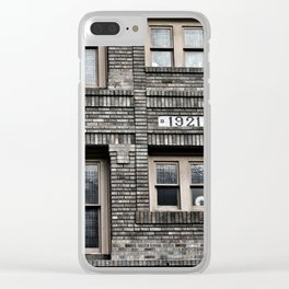 Circa 1921 Clear iPhone Case