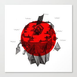 Japan 2011 Tsunami Canvas Print