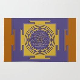 Sri Yantra Mandala Rug
