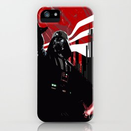 Red is the new Darkside iPhone Case