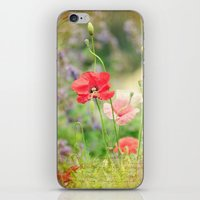 notebook iPhone & iPod Skins featuring A gardeners notebook by Wood-n-Images