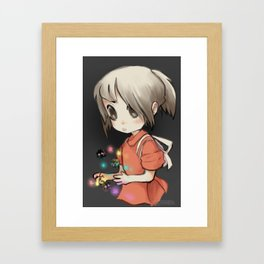 Soot Sprites and Candy Framed Art Print