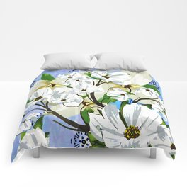 Evening Primrose   Comforters