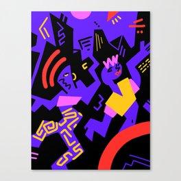 Crazydance Canvas Print