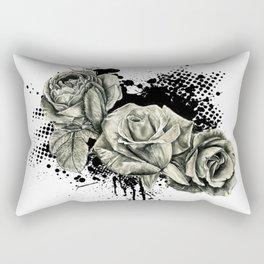 Roses Splash Rectangular Pillow