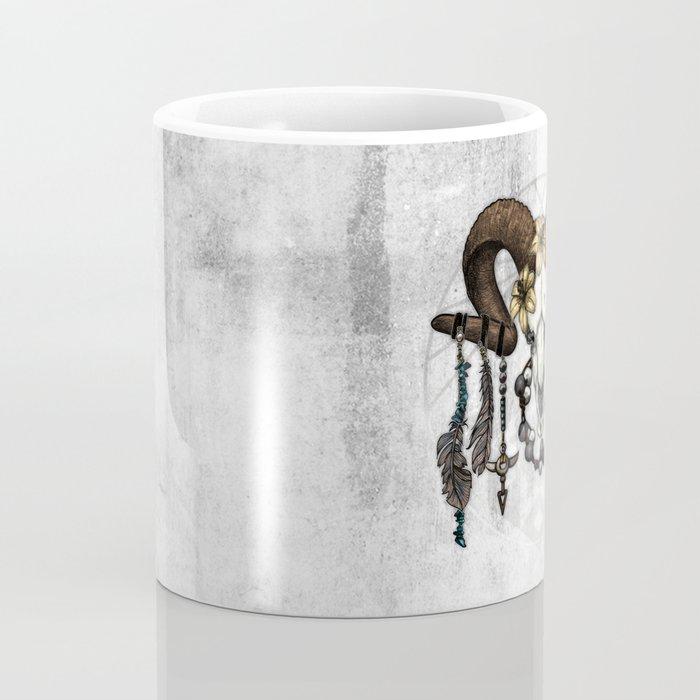 Bestial Crowns: The Ram Coffee Mug