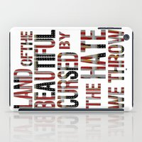 the national iPad Cases featuring National Anthem by Veronica Rogers