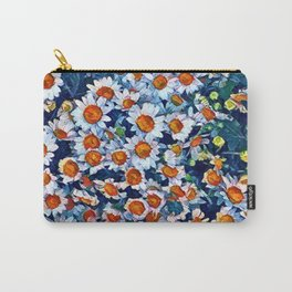chrydsanthemum Carry-All Pouch
