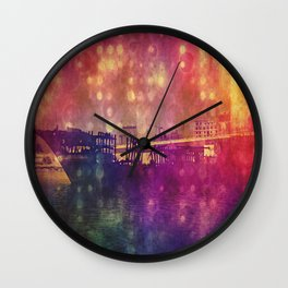 Burnt Creek Dhow Wall Clock
