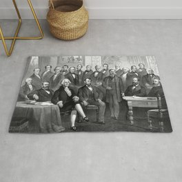 Our Presidents 1789 - 1881 Rug