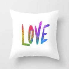 Just Love Throw Pillow