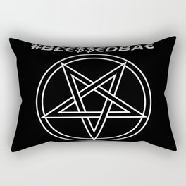 TRULY #BLESSEDBAE INVERTED Rectangular Pillow