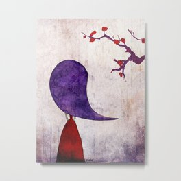 The cherry tree Metal Print